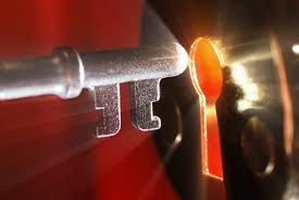Earthly keys are a shadow of the Keys of the Kingdom that can be used to open the veil between our worlds